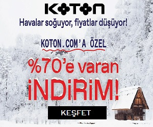 Kiyafetlerinizi Koton.com'da satin alin