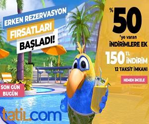 Seyahatlerinizi Tatil.com'da yaptirin