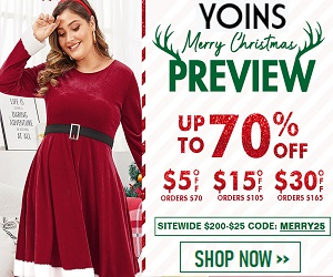 Shop your next fashion needs at Yoins.com