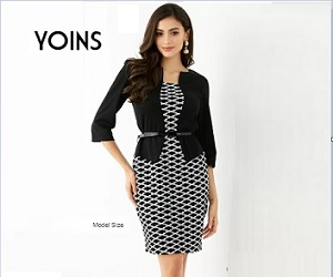 Shop your clothes at discounted prices in Yoins.com