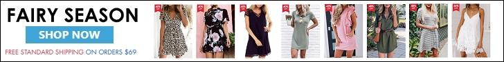 Shop your clothes online at FairySeason.com