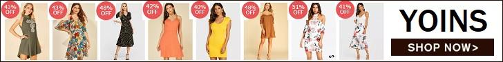 Shop your fashion clothes at Yoins.com