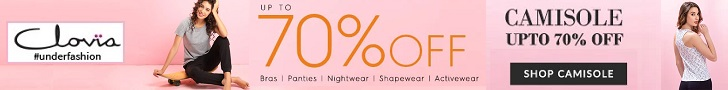 Shop your high quality lingerie's at Clovia.com