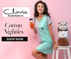 Shop high quality lingerie's at Clovia.com