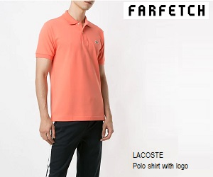 Newly washed lacoste polo