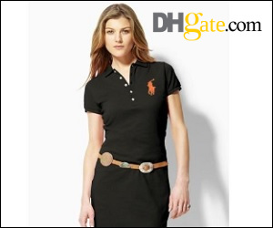 tucking a lady polo dress ads texture to personality