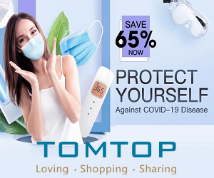 save 65% on baby clothing and other selected items at Tomtop