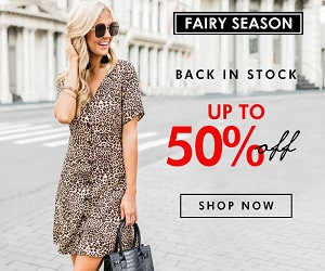 fairy season's coupon up to 50% off