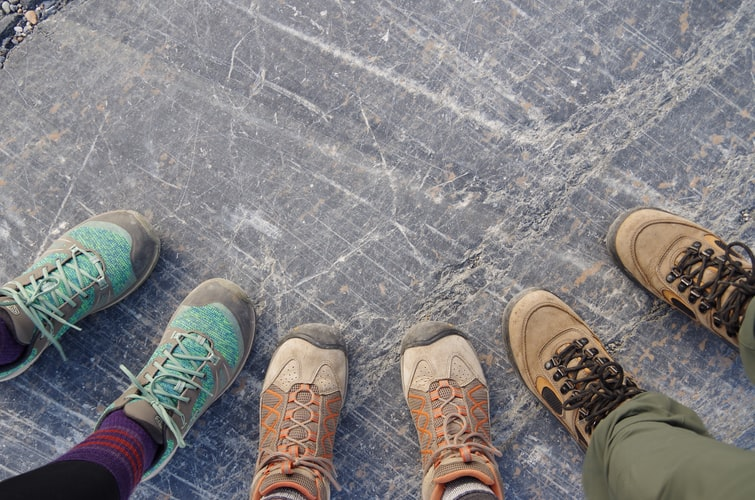 understand your needs in choosing hiking or running shoes