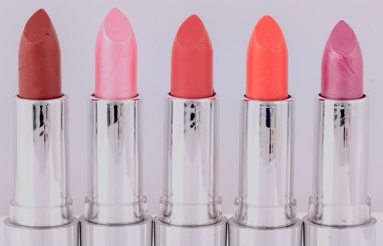rich-colored lipstick that enhances your look but not expensive