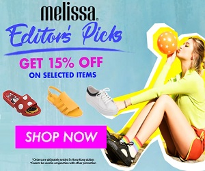 editor's pick get 15% off on selected items at melissa
