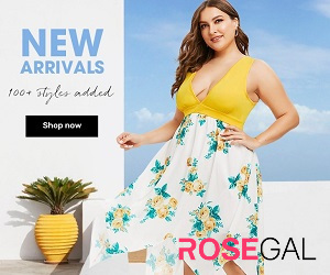 new arrival casual outfit for chubby ladies at rosegal