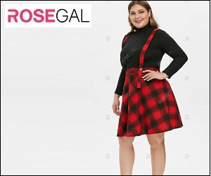 A-line skirt is a good option for plus size woman