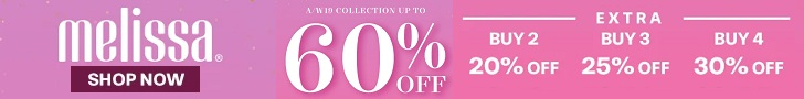 60% off coupon when you shop at melissa's selected items