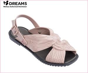 Buy Melissa's flat sandals Online -shoppeers