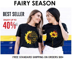 Fairy Season's best seller cami and shirts- 40% off