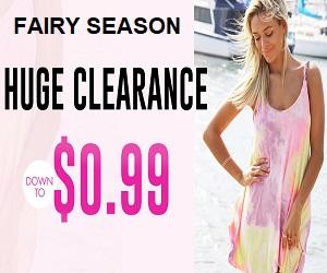 fairy season huge clearance sale