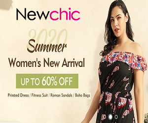 newchic's summer women's arrival coupon deals
