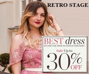 Retro Stage- best dress 30% off