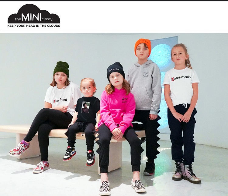 mini classy clothing brands for kids