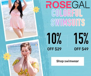 Be comfortable while shopping your outfit at Rosegal.com