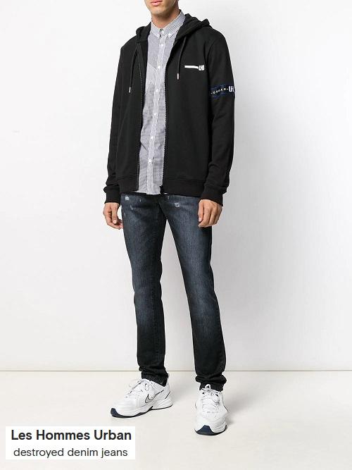smart casual jacket in denim jeans