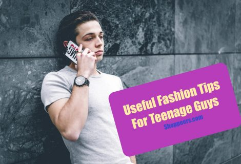 Useful Fashion Tips For Teenage Guys