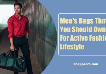 Men's Bags That You Should Own For Active Fashion Lifestyle