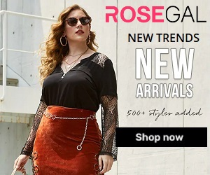 Online shopping with best prices offered at Rosegal.com
