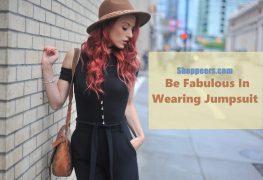 Be Fabulous In Wearing Jumpsuit