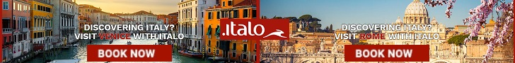 Get your train tickets and travel all over Italy only at Italo