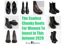 The Coolest Chunky Boots For Women To Invest In This Autumn 2020