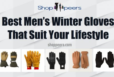 Best Men's Winter Gloves That Suit Your Lifestyle