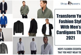 Transform Your Fashion Style With Men's Cardigans This 2021