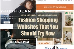 Best Fashion Shopping Websites That You Should Try Now