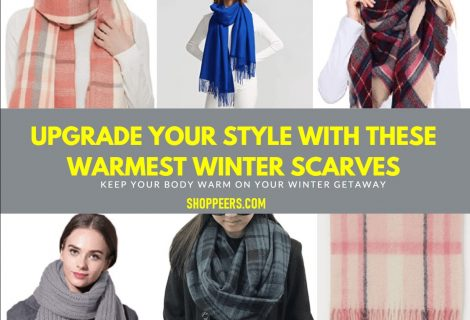 Upgrade Your Style With These Warmest Winter Scarves