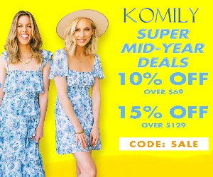 Komily.com offers better fashion at even lower prices